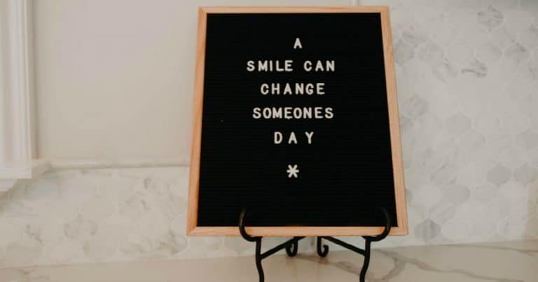a smile can change someones day