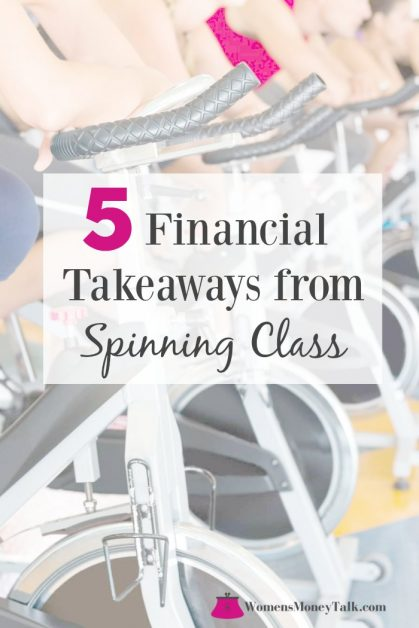 5 financial takeaways from a spinning class