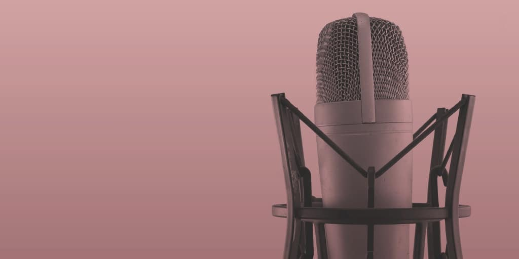 recording microphone for women hosted podcasts
